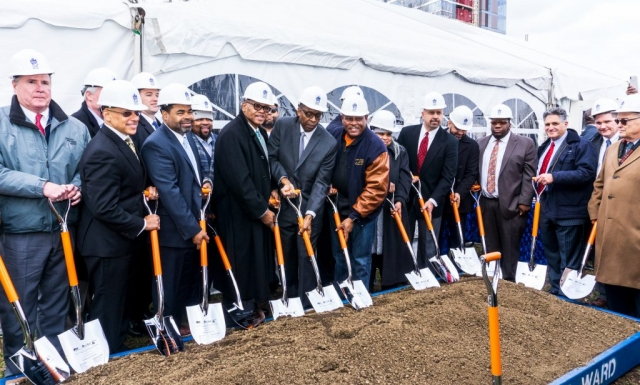 Laborers' District Council Training School Groundbreaking Ceremony