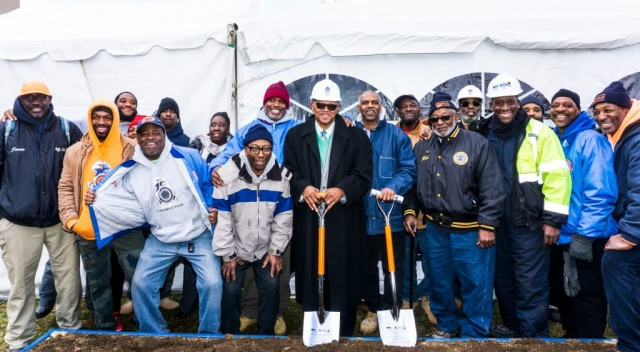 Laborers' District Council Groundbreaking Ceremony