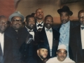 Sam Staten Sr with the Members